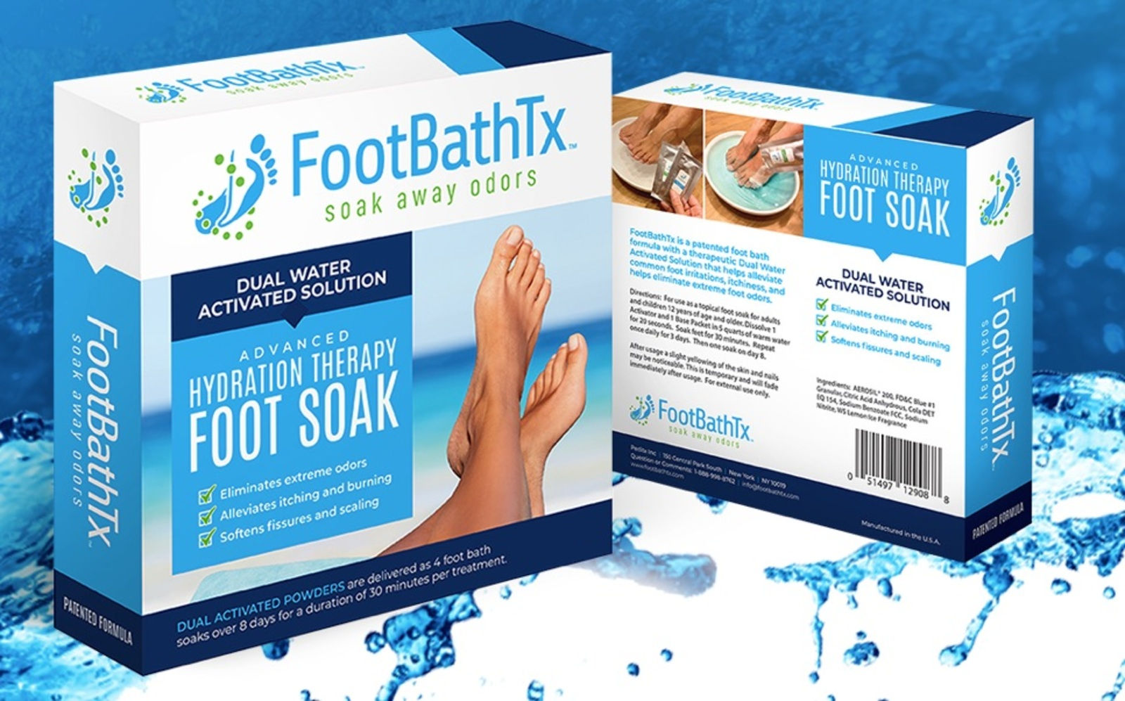 Advanced Hydration Therapy Foot Soak
