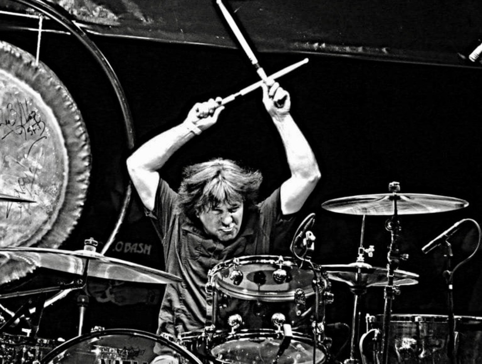 Legendary rock drummer Simon Wright