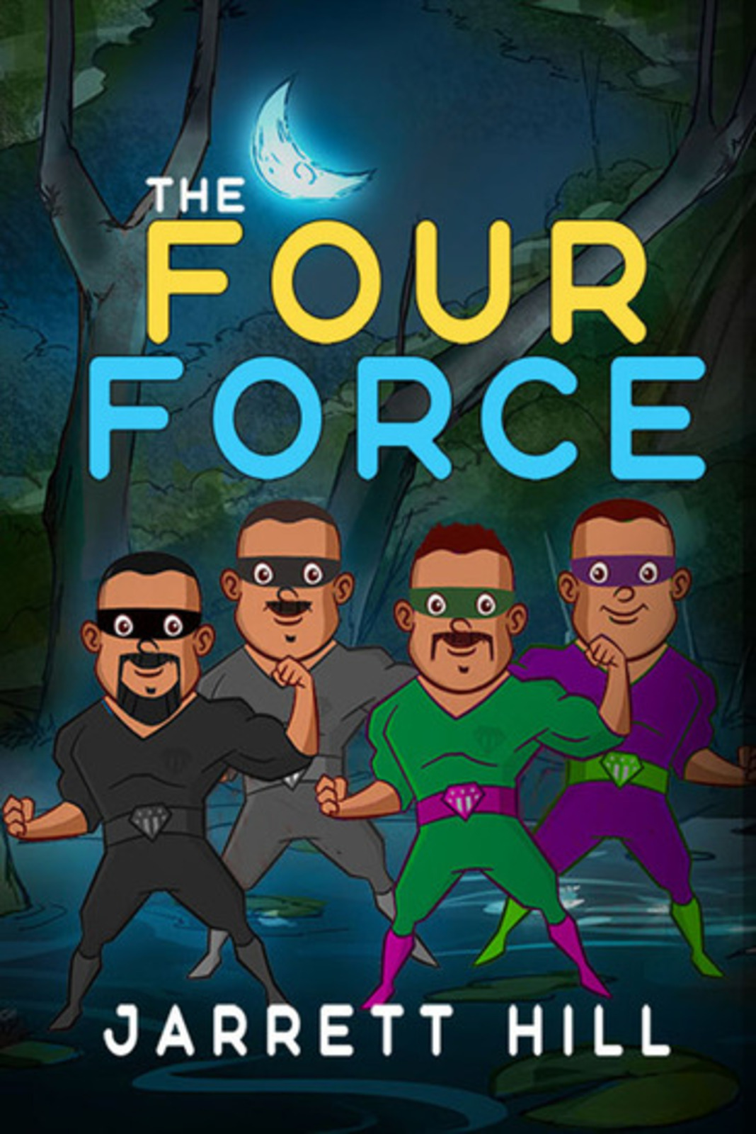 Author Jarrett Hill AKA JMoneyMakk Launches Newest Crime Thriller Action Book, The Four Force