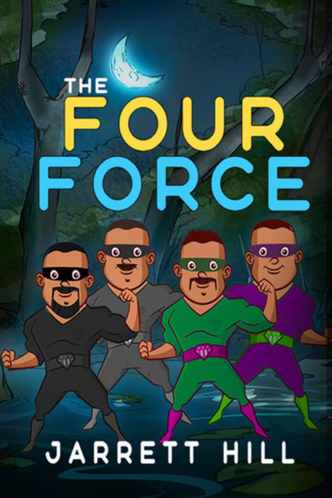 Author Jarrett Hill AKA JMoneyMakk Launches Newest Crime Thriller Action Book, The Four Force
