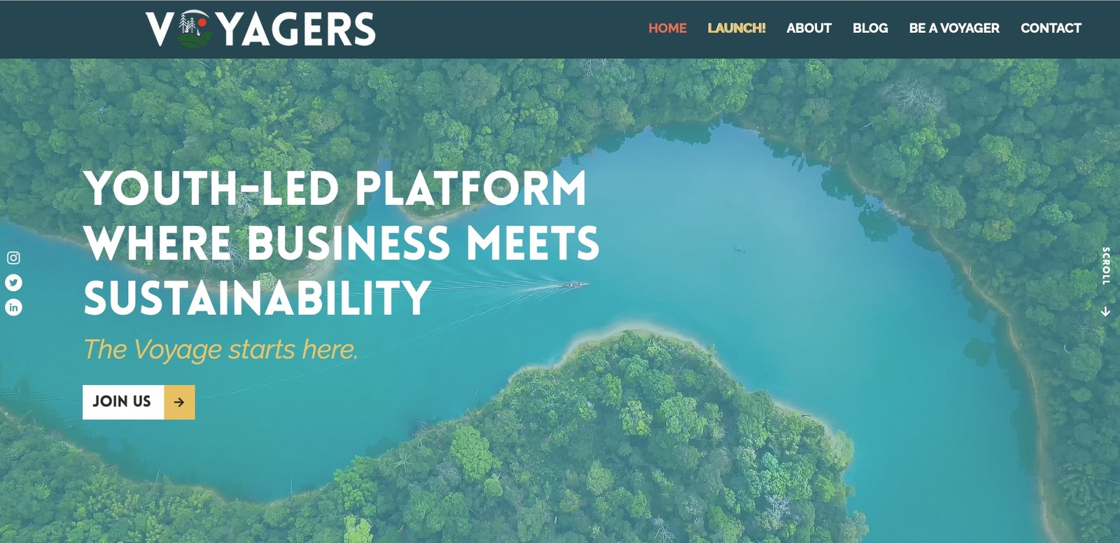 Youth-led Platform where Business meets Sustainability