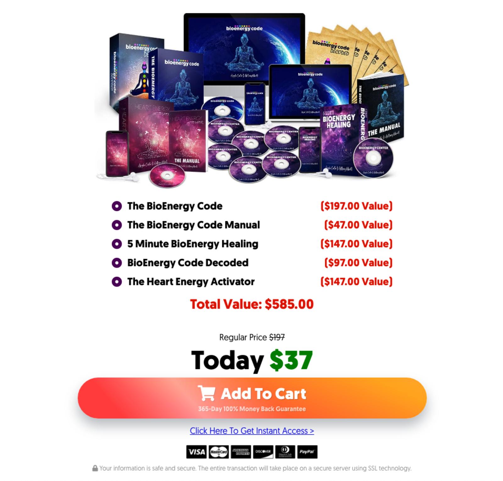 BioEnergy Code Discount