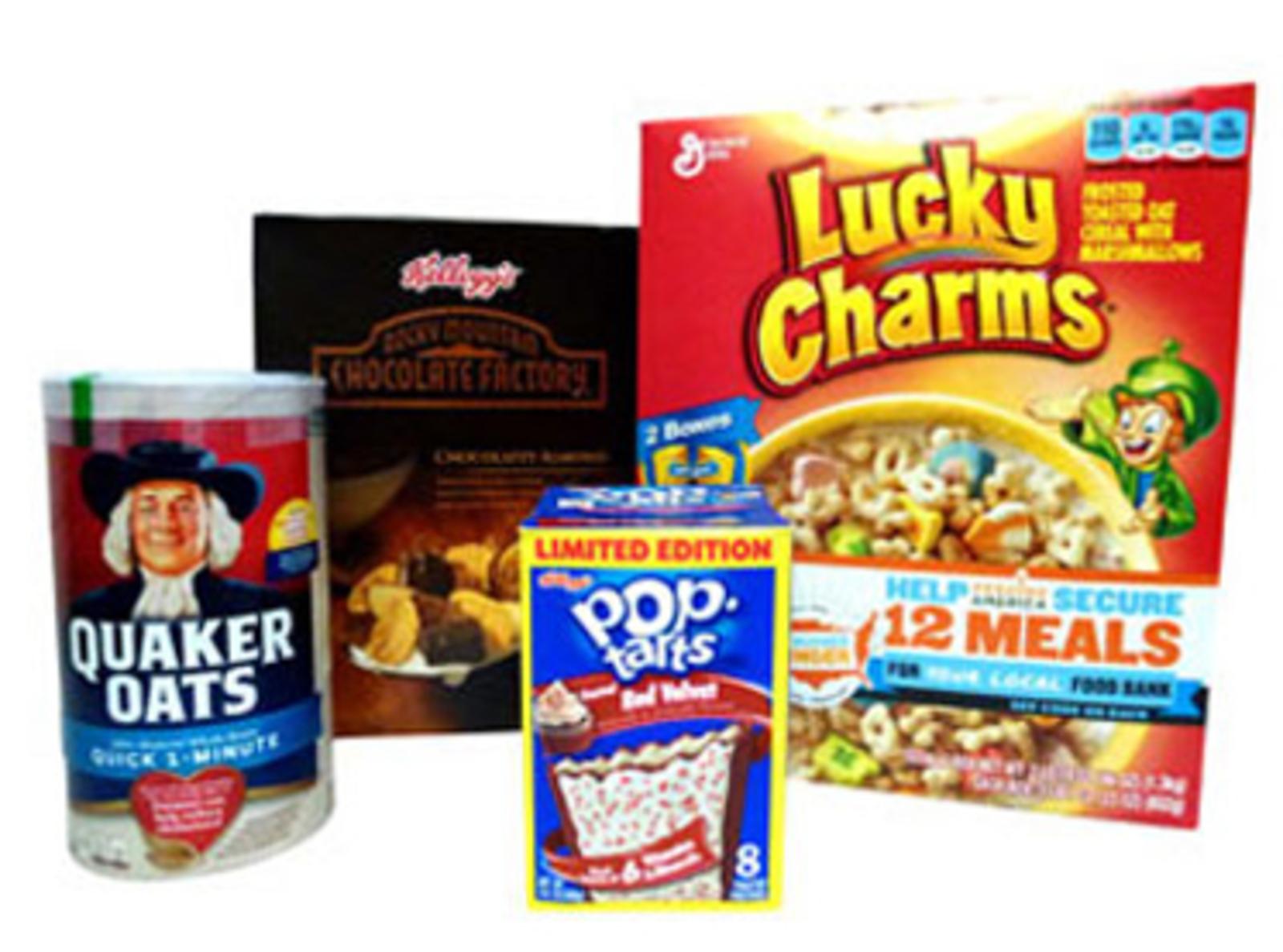 Taste America Breakfast Cereal and Pop Tarts