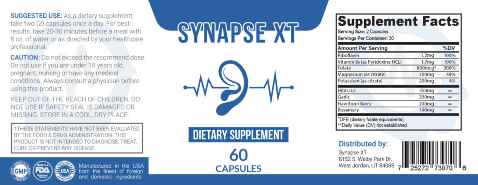 Synapse XT Ingredient