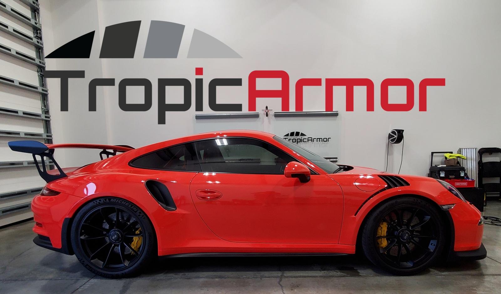 Tropic Armor Naples automotive window tinting