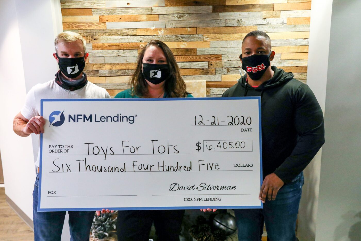 NFM Lending Donates to Toys for Tots