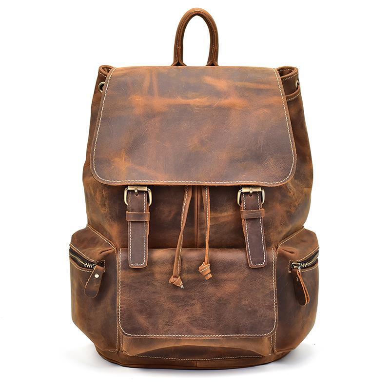 The Hagen Backpack | Vintage Leather Backpack