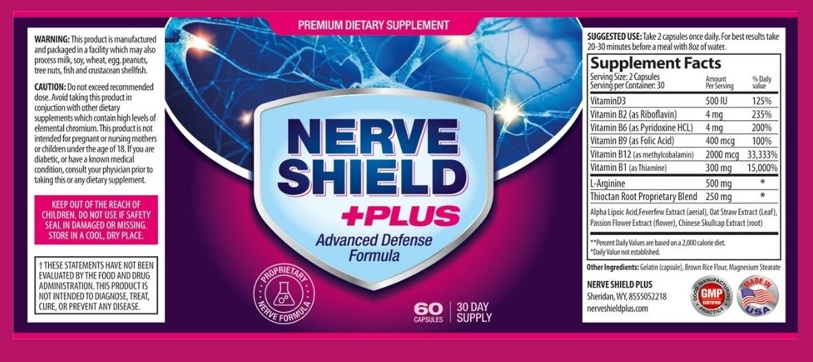 Nerve Shield Plus Ingredients