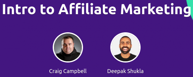 Affiliate Marketing Academy with Craig Campbell