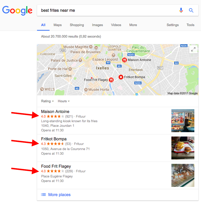 The Goal is To Rank on Google Maps 3 Pack Results!