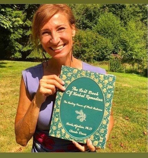 The Lost Book  Of Herbal Remedies - Nicole Apelian