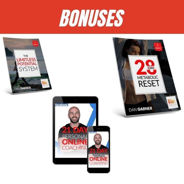 eat sleep burn bonuses