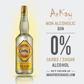 ArKay Beverages Non-Alcoholic Gin