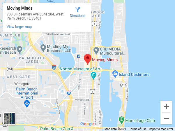 Moving Minds 700 S Rosemary Ave Suite 204, West Palm Beach, FL 33401