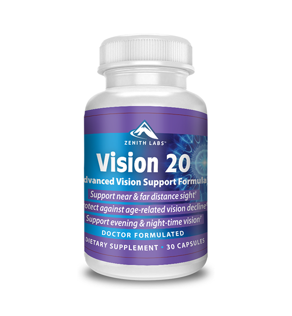 Vision 20 Supplement Reviews (Zenith Labs): Safe Ingredients? Side Effects? By MJ Customer Reviews