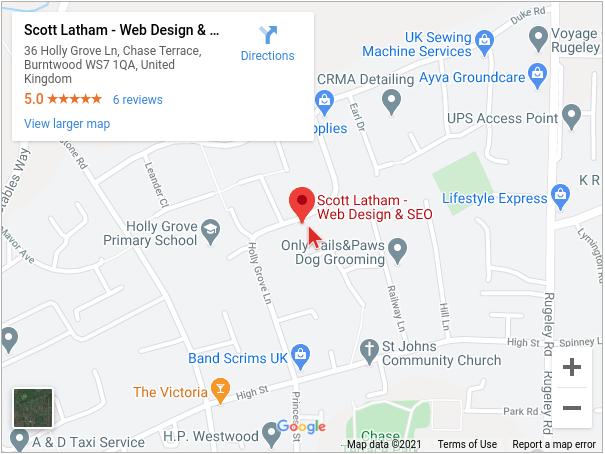 Scott Latham - Web Design & SEO