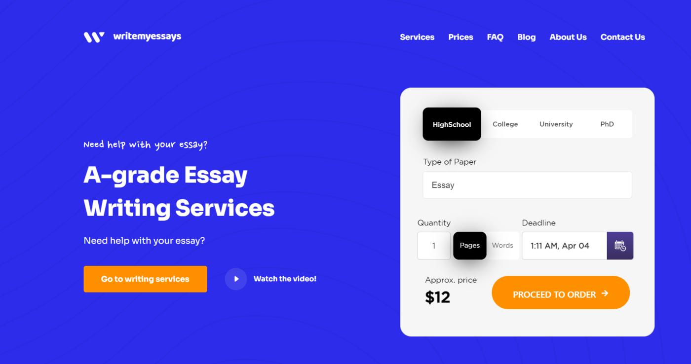 Write My Essays - Best Choice for Essay Writing