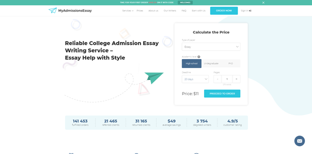 MyAdmissionsEssay - Best Choice for Admission Writing