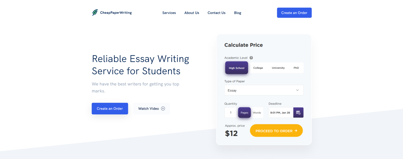 CheapPaperWriting.com - Best for Research Papers