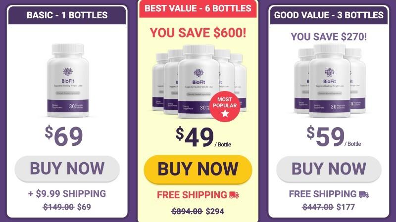 BioFit Probiotic Price