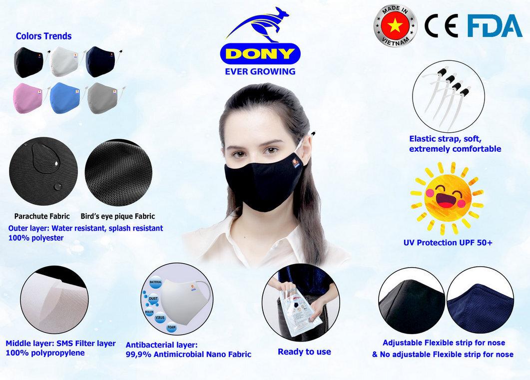 Global-quality reusable facemasks in KSA, UAE, Kuwait, Oman, Bahrain