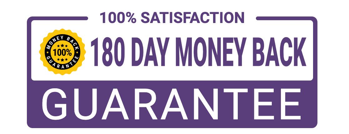 180 Day Money back