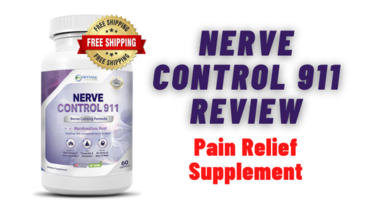 Neuropathy Pain Relief Supplement for Nerves - Nerve Control 911