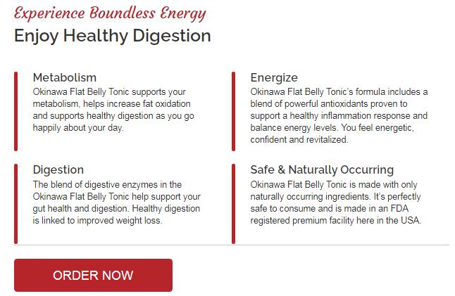 Okinawa Flat Belly Tonic Benefits