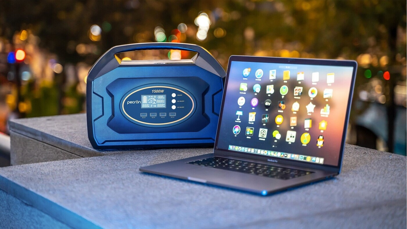 Pecron S1500: The Most Compact Portable Power Station Is Launching On Indiegogo