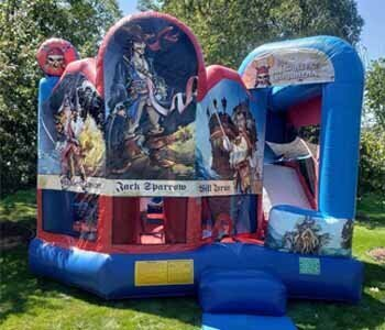 3 Monkeys Inflatables Combo Bouncer Rentals