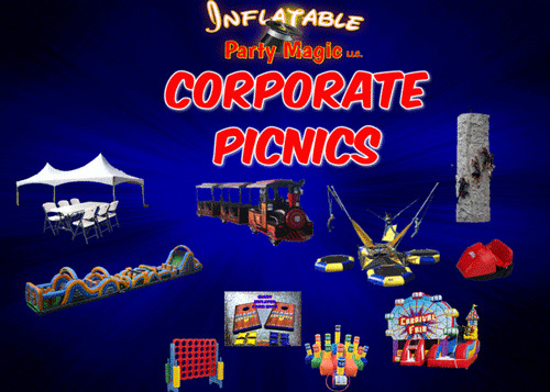 Inflatable Party Magic Corporate Event Rentals