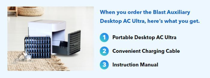 Blast Auxiliary Desktop AC Ultra Facts
