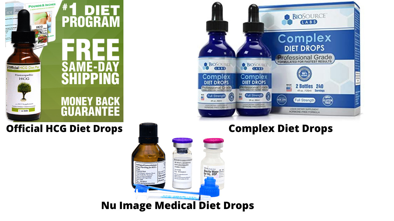3 Best HCG Drops for Faster Weight Loss In 2021