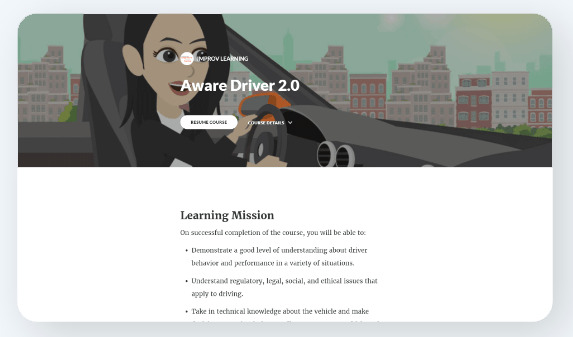 IMPROV Microlearning Driving Course