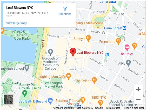 Leaf Blowers NYC