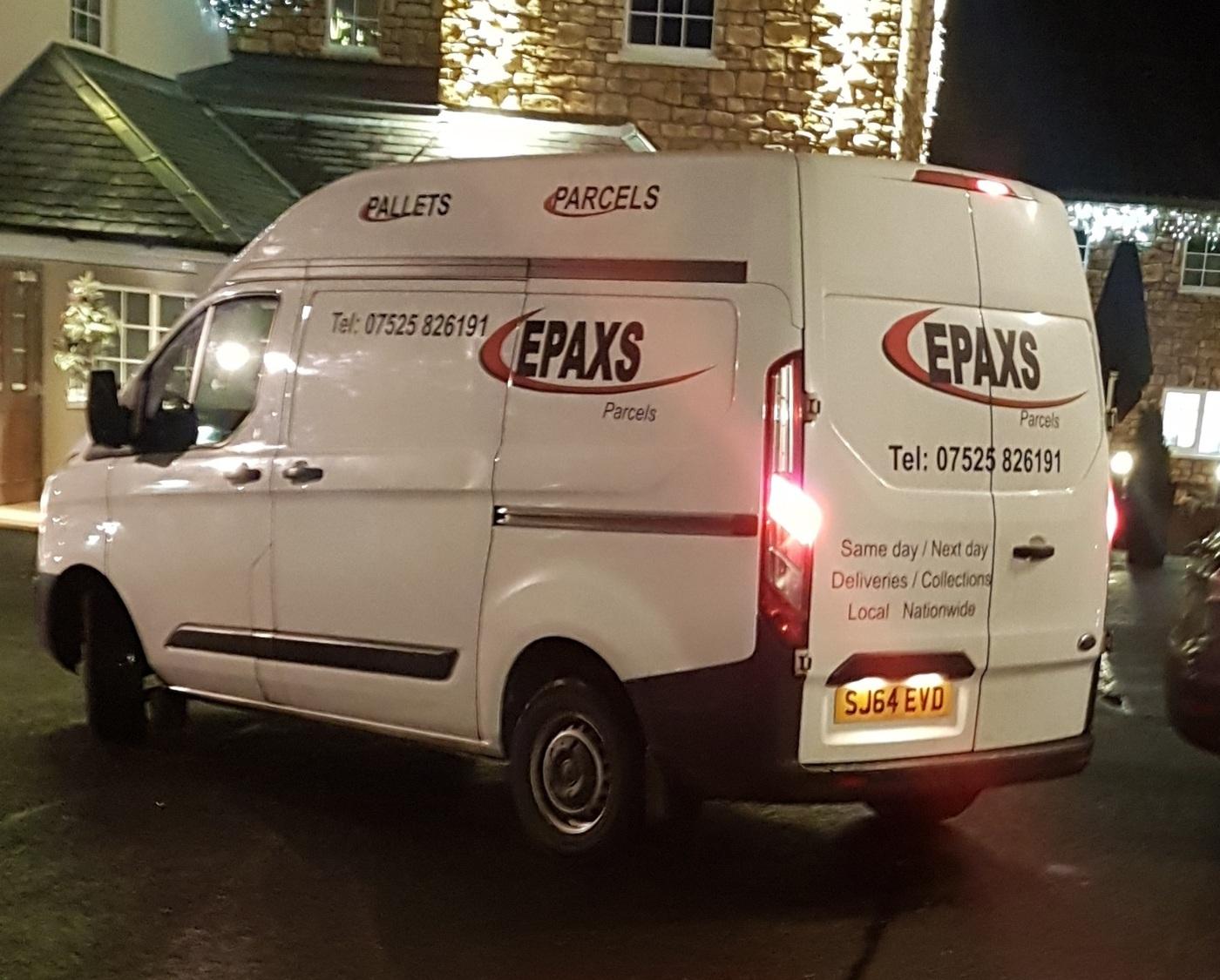 EPAXS Courier - Glasgow, UK