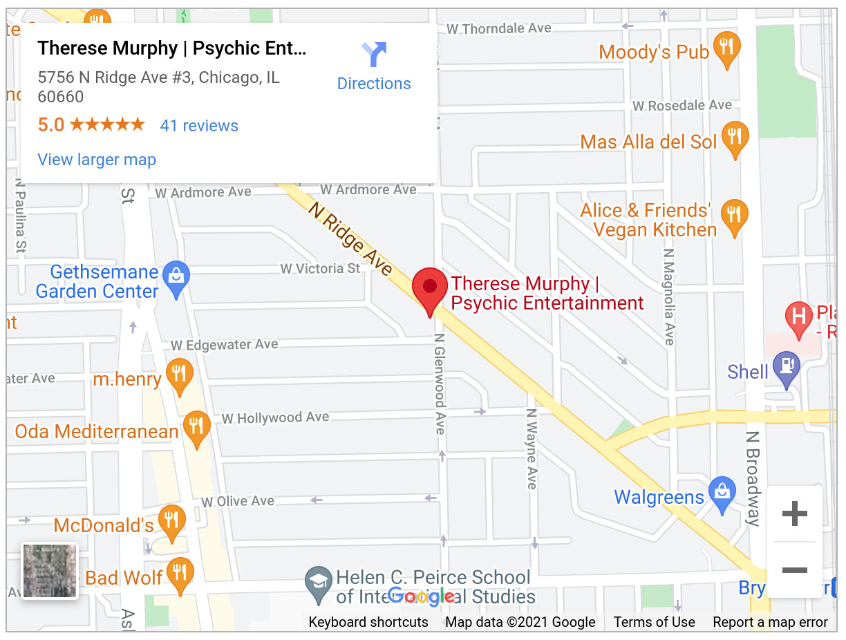 Therese Murphy Psychic Entertainment