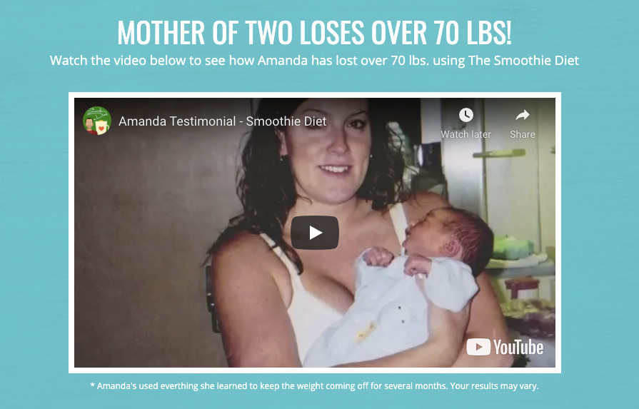 MOTHER OF TWO LOSES OVER 70 LBS!