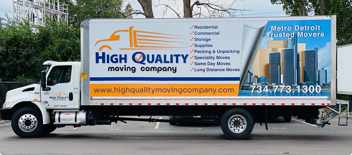 High Quality Moving Company of Detroit, MI