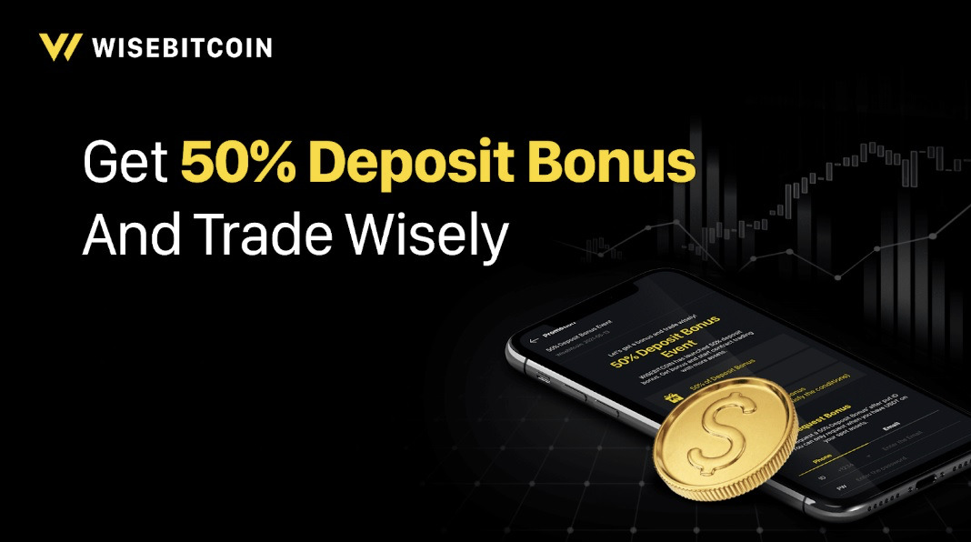 Wisebitcoin Announces Its Latest Limited-Time Promo Featuring Bonuses of up to 1,000 USDT
