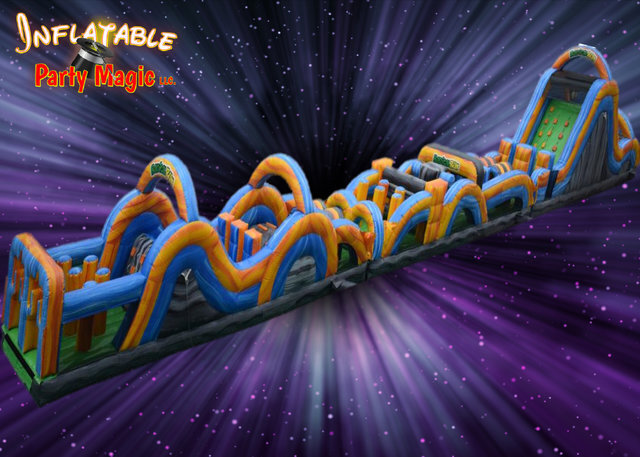 Inflatable Party Magic TX Obstacle Course