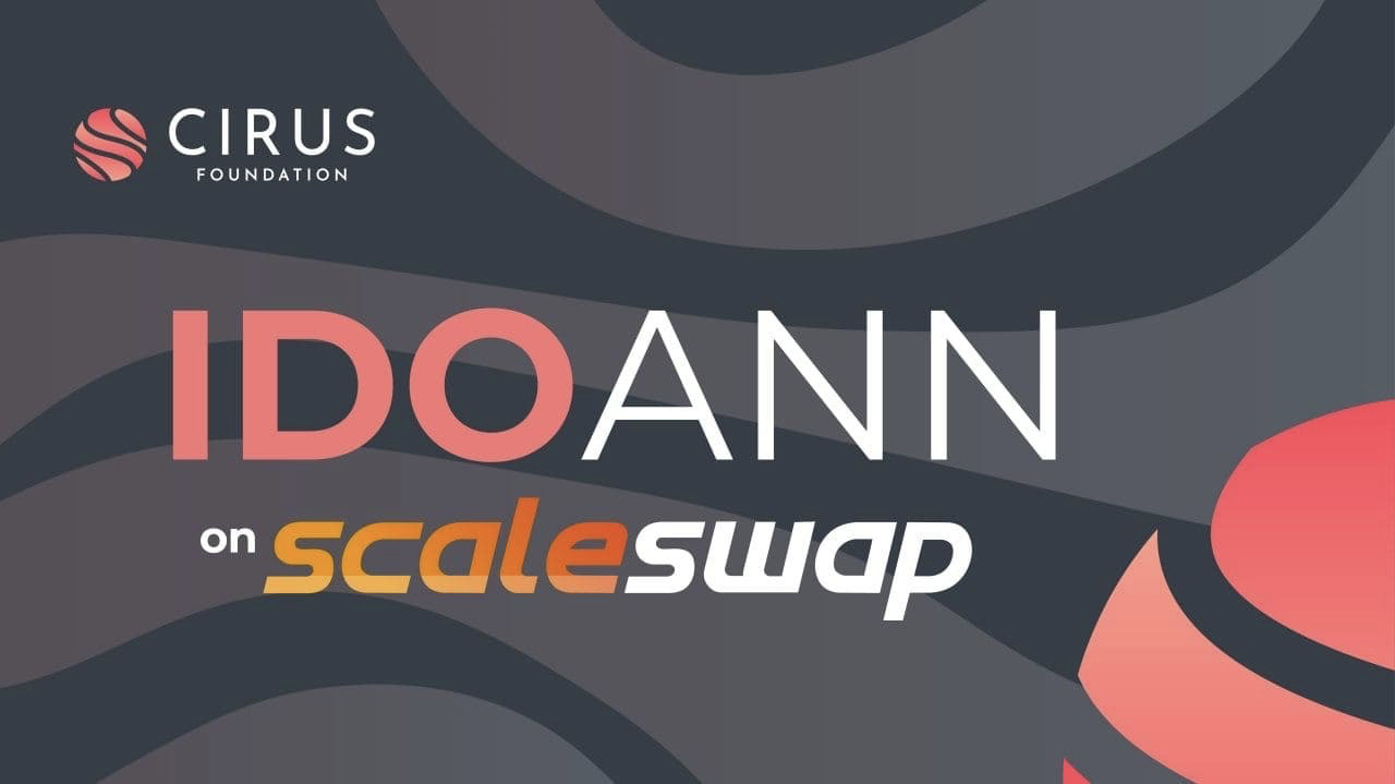 Cirus Partners with Scaleswap for its Flagship IDO Launch