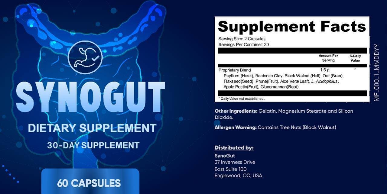 SynoGut Reviews - Does It Work? (What They Won't Tell You) | HeraldNet.com