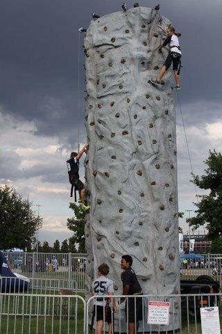 Inflatable Party Magic TX - Rock Climbing Wall
