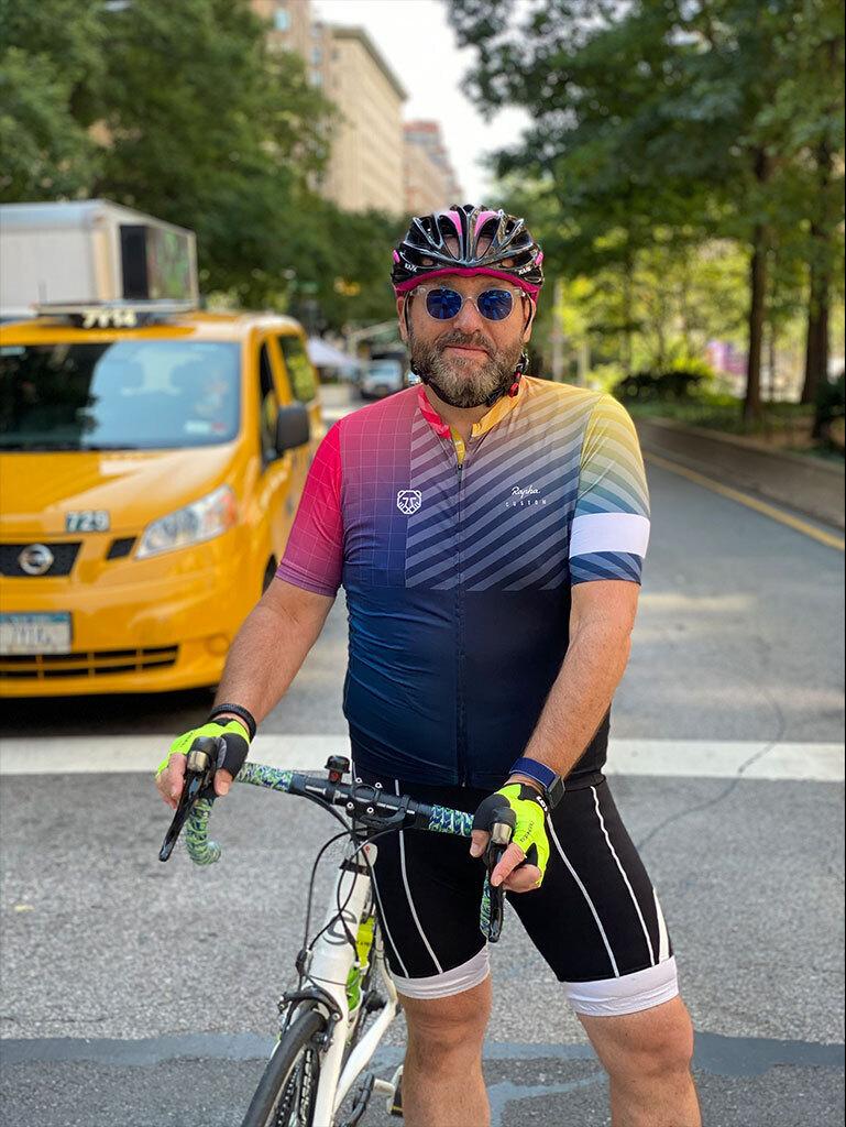 Cyclist Glenn Herman Manhattan Attorney New York City