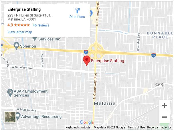 Enterprise Staffing - New Orleans, LA