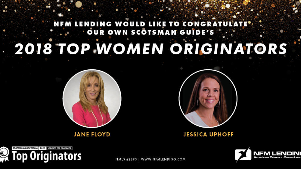 NFM Lending Loan Originators named among Scotsman Guide's Top Women Originators 2018