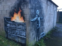 Camfil Air Filters praises Banksy's new mural that sparks air pollution discussion.