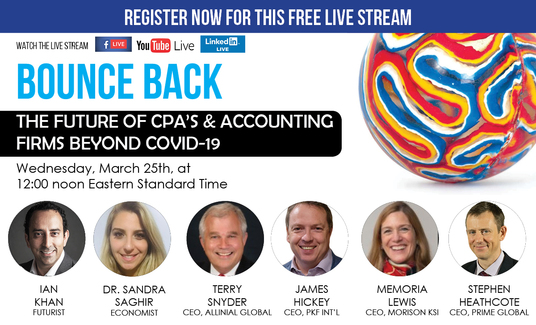 CPA and Accounting Industry - COVID-19 Impact - The Future of Industry LIVESTREAM