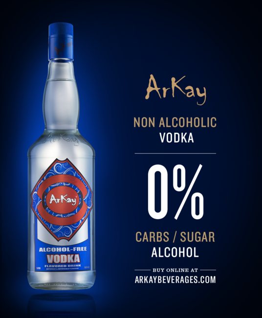 ArKay Announces that its Vodka Alternative is Out of Stock on Amazon.com